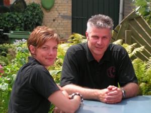 Heleen en Gerald Vink. Áárdige mensen. Én lekkere wijn...