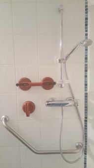 Handgrepen meegenomen voor in de douche (oorspronkelijk glasdragers)